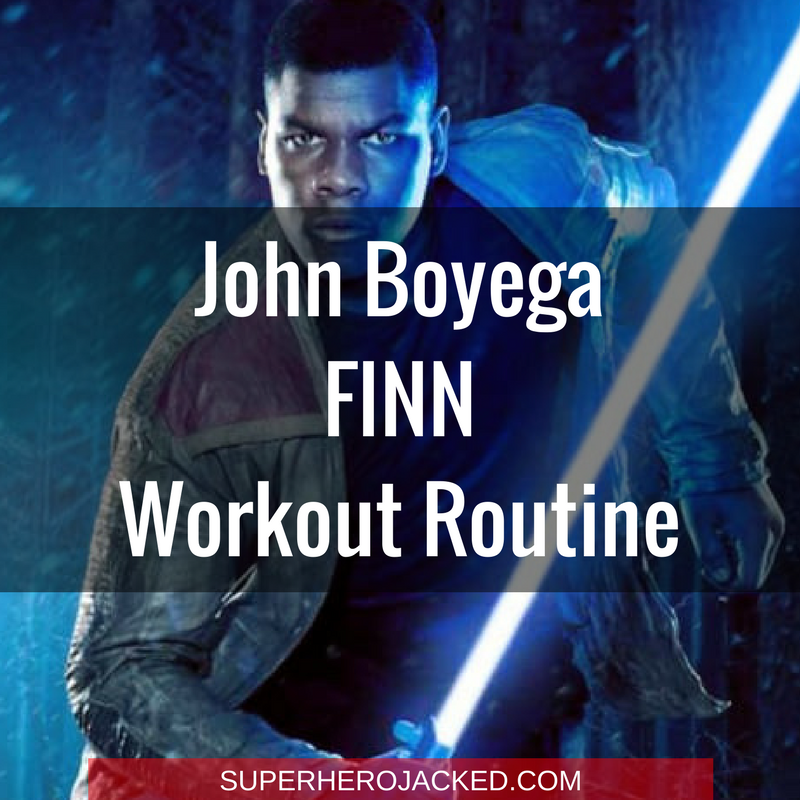 John Boyega Finn Workout Routine