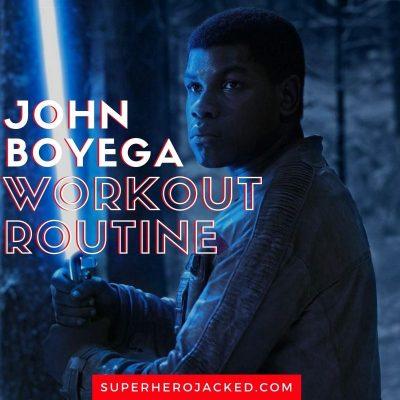 John Boyega Workout