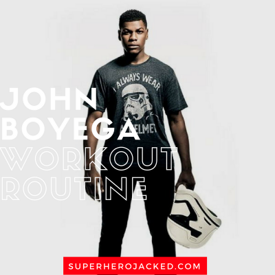 John Boyega Workout Routine and Diet Plan: Star Wars, Attack the Block, Pacific Rim, and more!