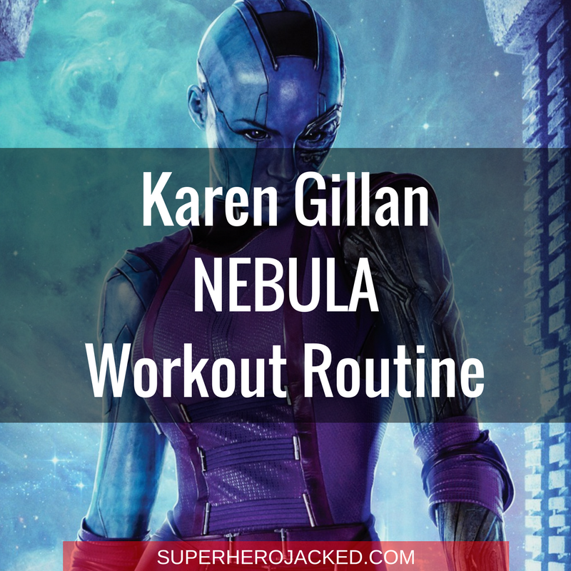 Karen Gillan Nebula Workout Routine