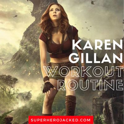 Karen Gillan Workout Routine and Diet Plan: Doctor Who, Nebula from GOTG, and Jumanji