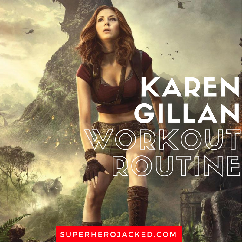 Karen Gillan Workout Routine