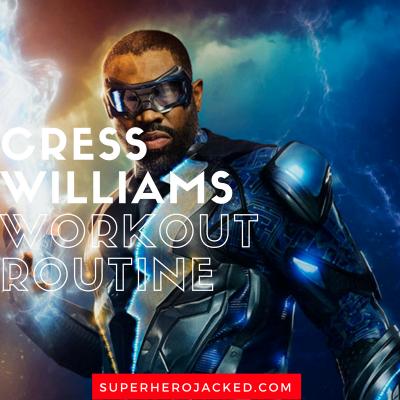 Cress Williams Workout Routine 1
