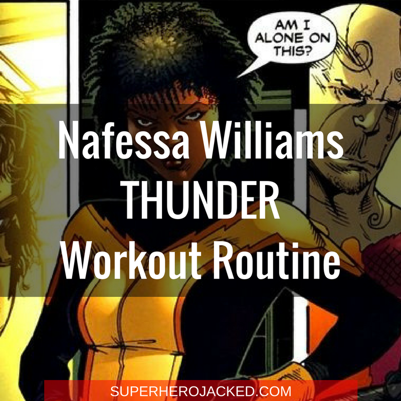 Nafessa Williams Thunder Workout Routine