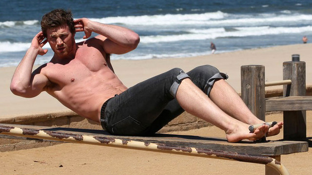 Derek Theler Workout 2
