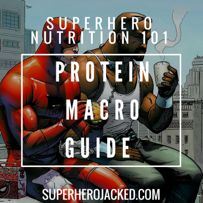 Superhero Nutrition 101: Protein (and the Top 5 Best Sources!)