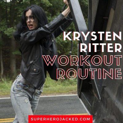 Krysten Ritter Workout