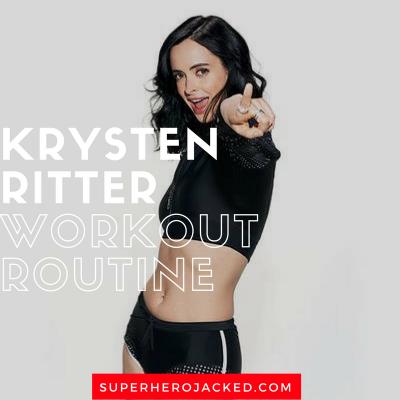 Krysten Ritter Workout Routine