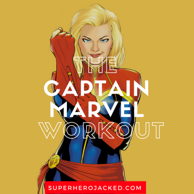 The Captain Marvel Workout