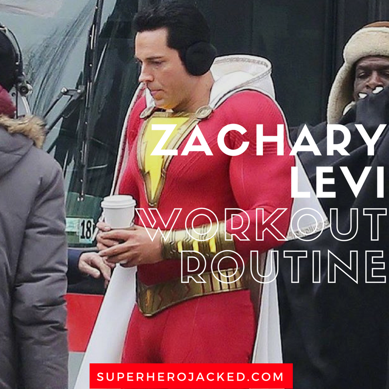 zachary levi workout routine and diet plan  chuck  fandral