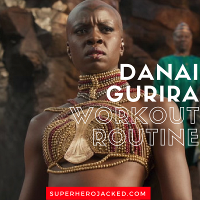 Danai Gurira Workout Routine and Diet Plan: Train like Okoye from Black Panther and Michonne from Walking Dead