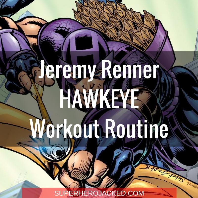 Jeremy Renner Hawkeye Workout Routine (1)