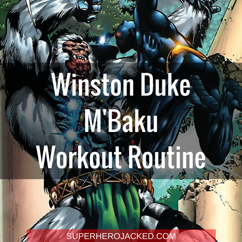 Winston Duke M'Baku Workout Routine