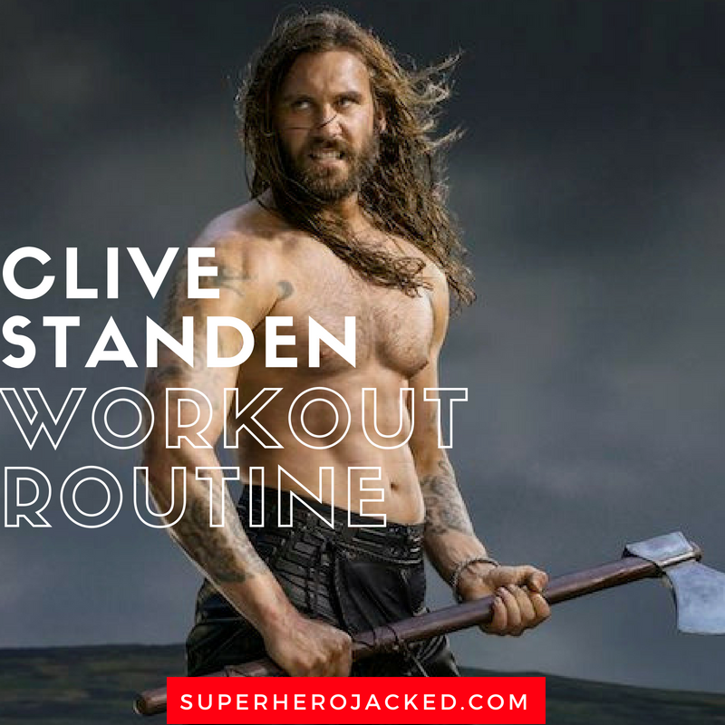 Clive Standen Workout Routine