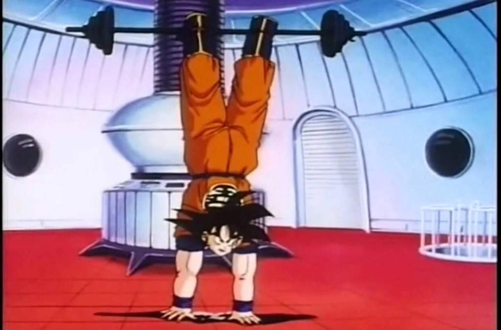 Goku Workout 2