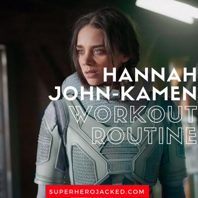 Hannah John-Kamen Workout Routine