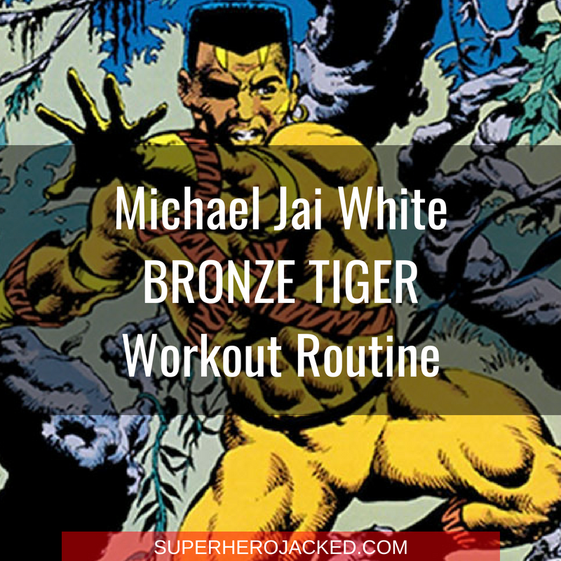 Michael Jai White Bronze Tiger Workout