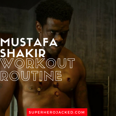 Mustafa Shakir Workout Routine and Diet Plan: Train like Bushmaster from Luke Cage Season Two