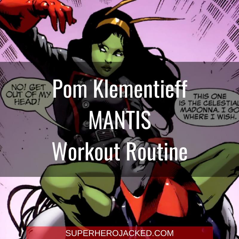 Pom Klementieff Mantis Workout Routine