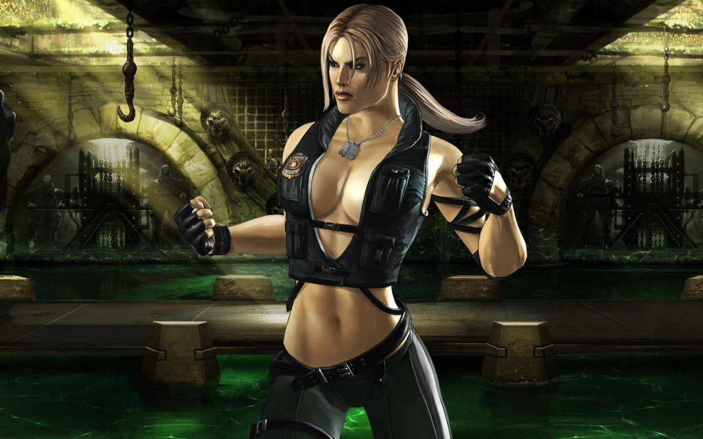 Sonya Blade Workout 2