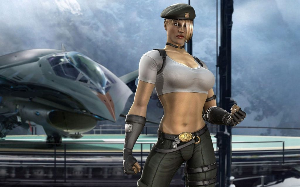 Sonya Blade Workout 3