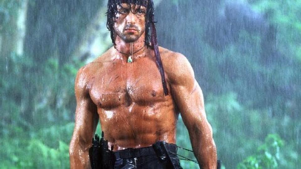 Sylvester Stallone Workout 3