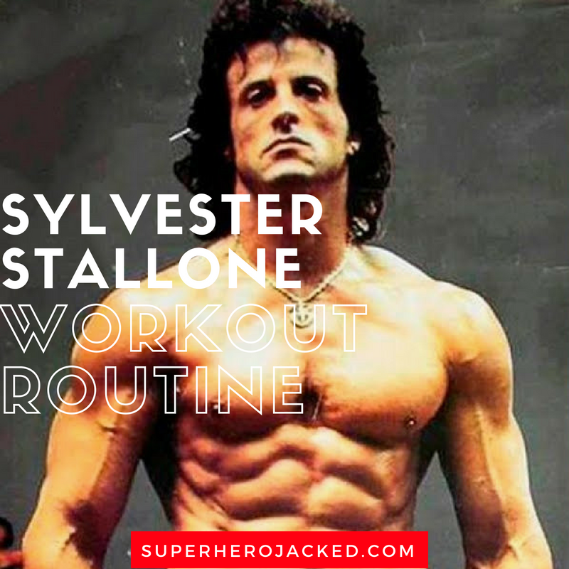 Sylvester Stallone Workout Routine