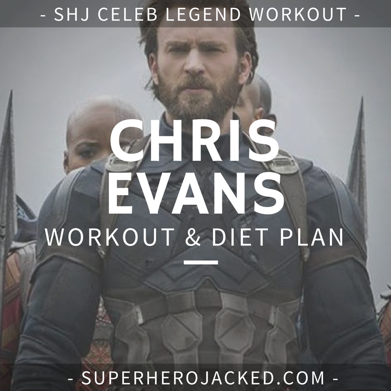 Chris Evans Workout Routine and Diet