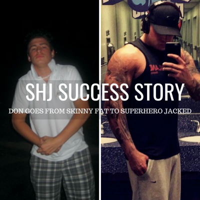 How Don Bulked Up from Skinny Fat to Superhero Jacked!