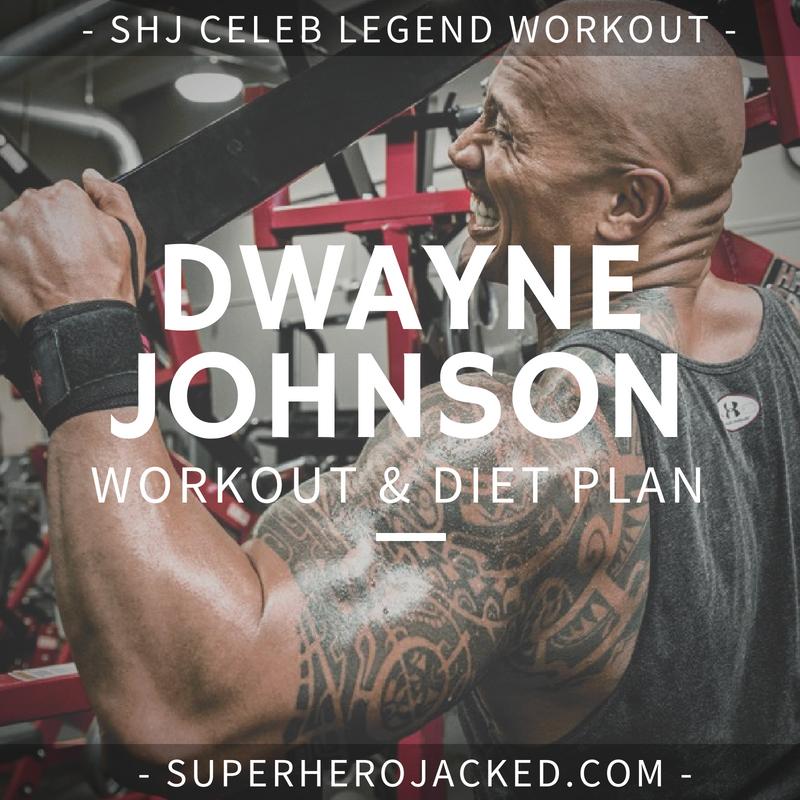 Dwayne Johnson Workout Routine