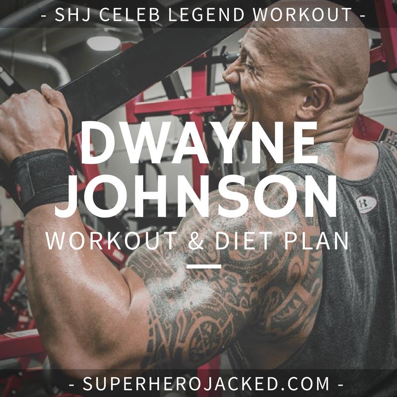 Dwayne Johnson Workout Routine