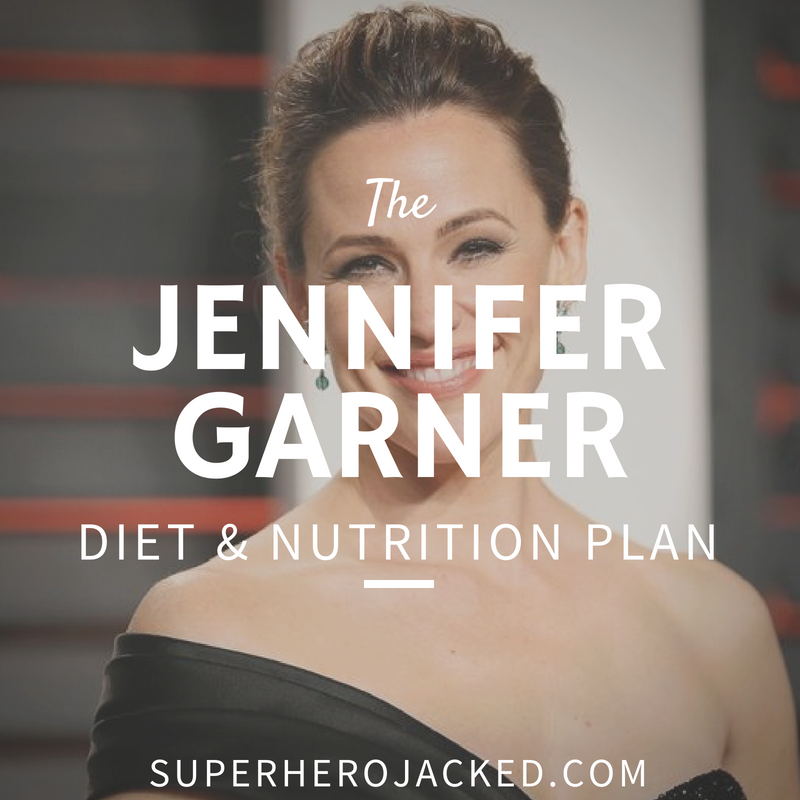 Jennifer Garner Diet and Nutrition