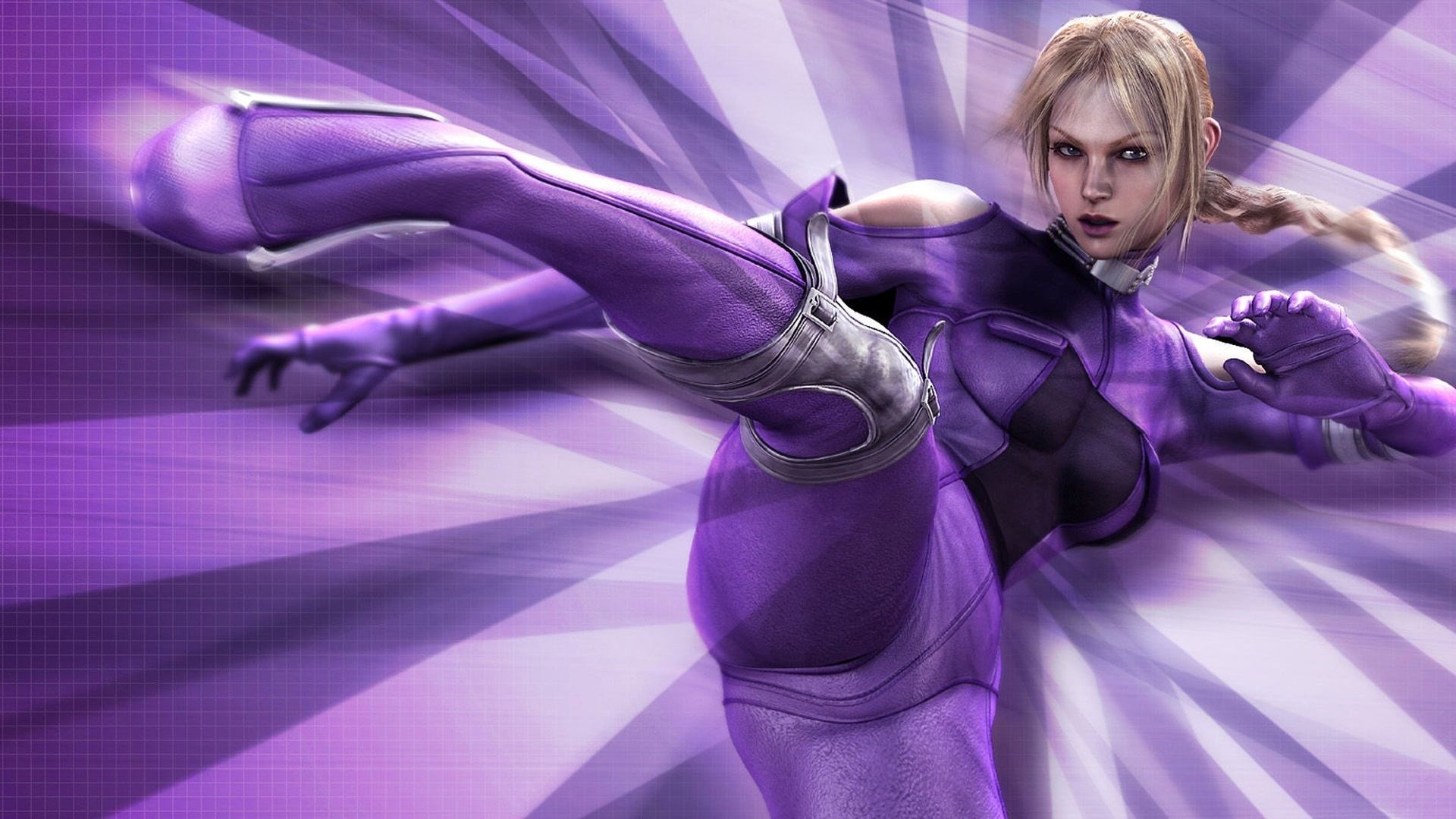 Nina Williams Workout 1