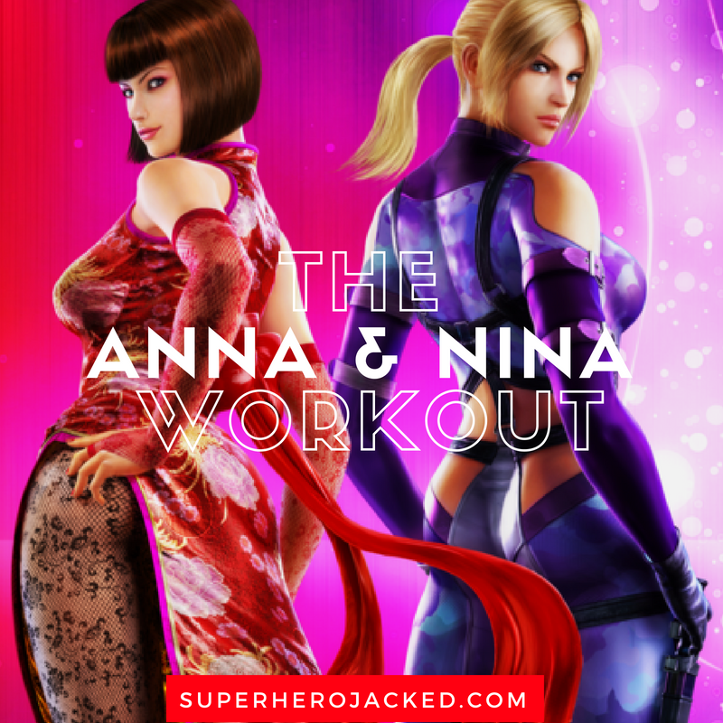 Anna And Nina Williams Workout Routine Train Like The Tekken Sisters