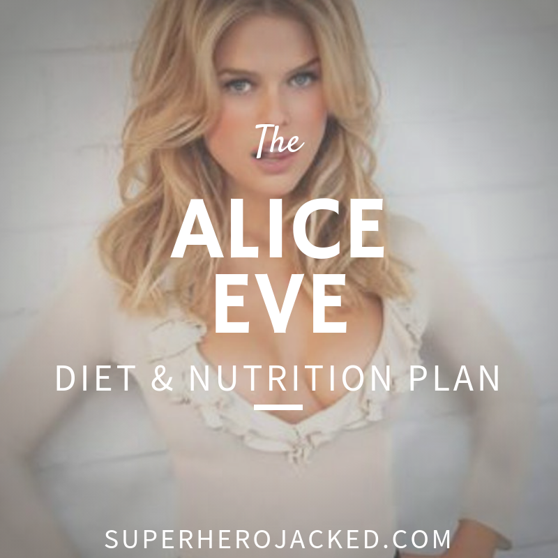 Alice Eve Diet and Nutrition Plan