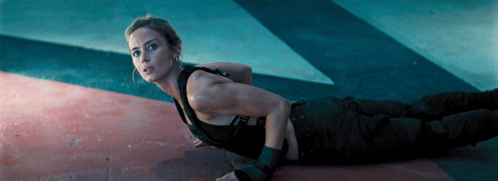 Emily Blunt Workout 1