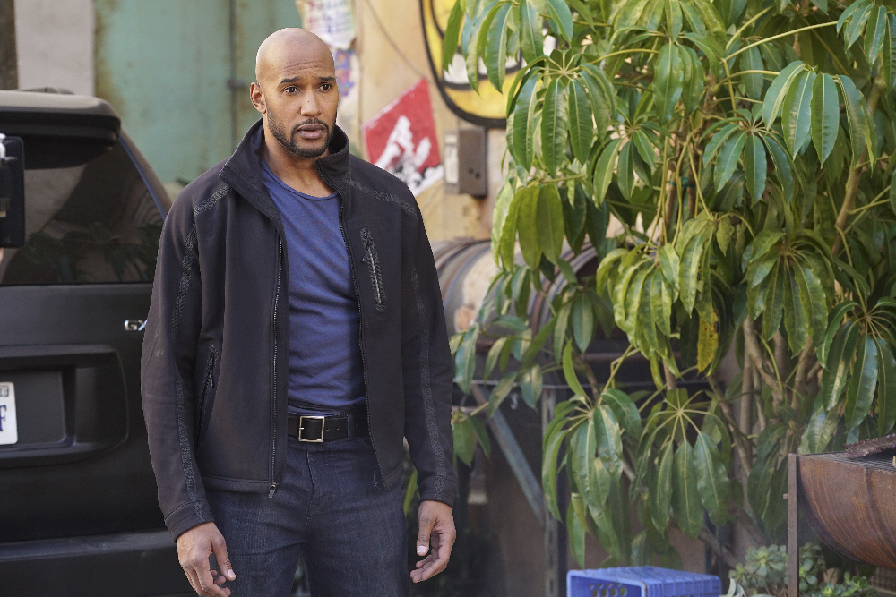 Henry Simmons Workout 3