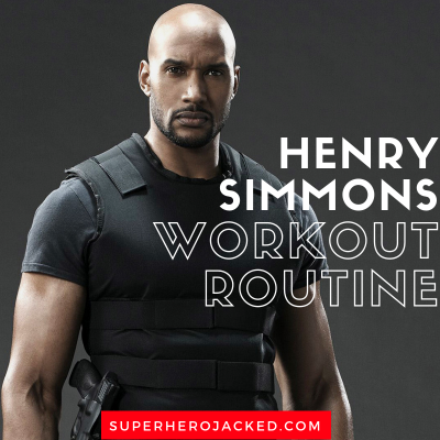 Henry Simmons Workout Routine