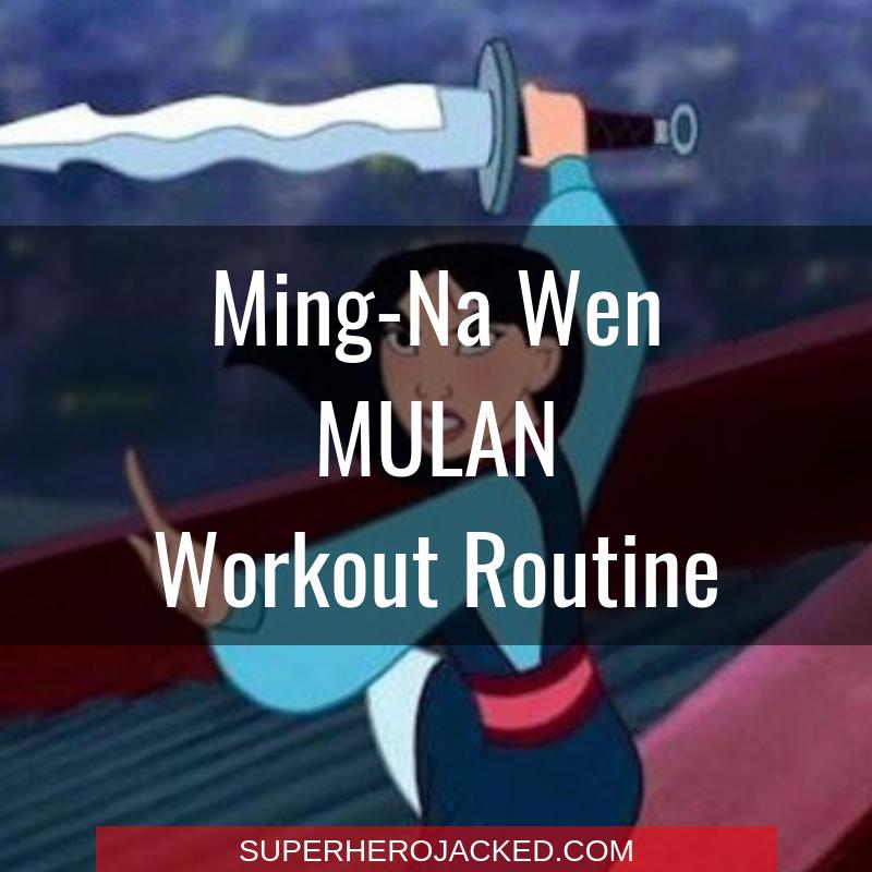 Ming-Na Wen Mulan Workout Routine