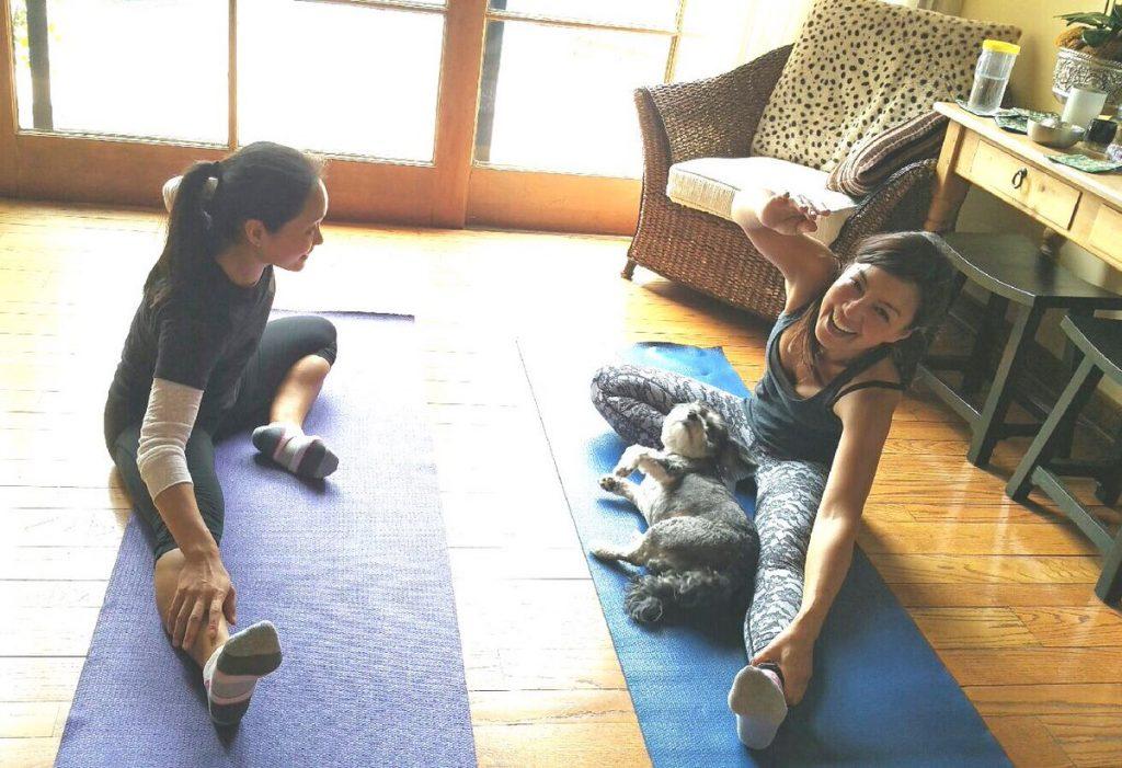 Ming-Na Wen Workout 2