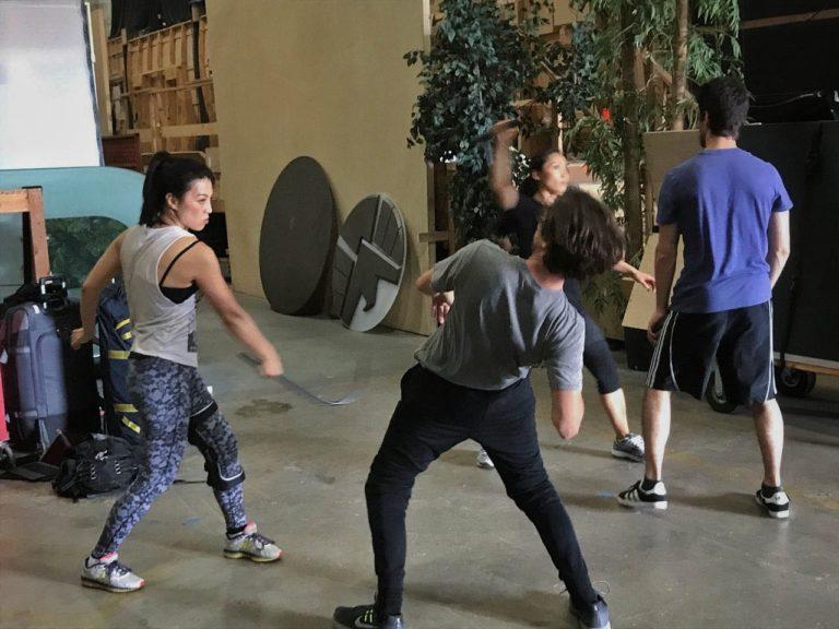 Ming-Na Wen Workout 3