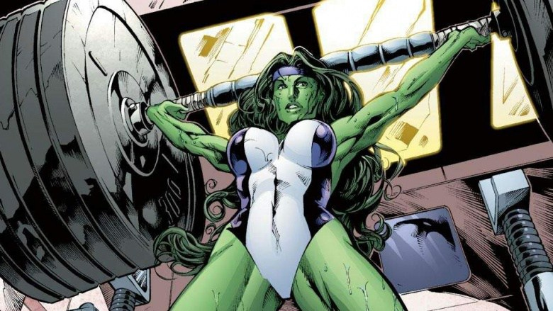 She-Hulk Workout 2