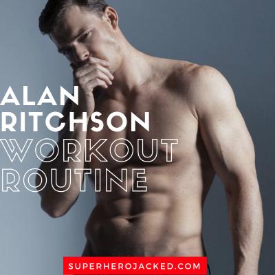 Alan Ritchson Workout Routine