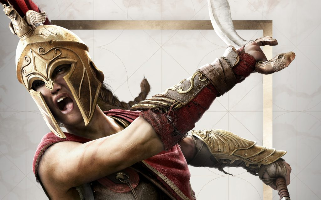 Kassandra Assassin's Creed Workout 1