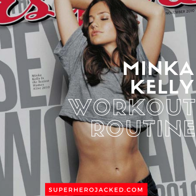 Minka Kelly Workout Routine and Diet Plan: The Roommate, 500 Days of Summer and now Dove in DC's Titans