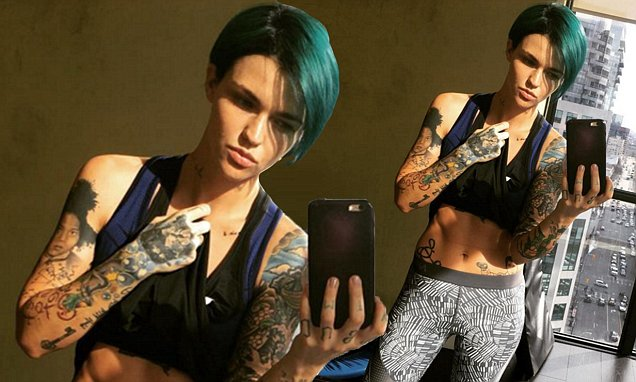 Ruby Rose Workout 1