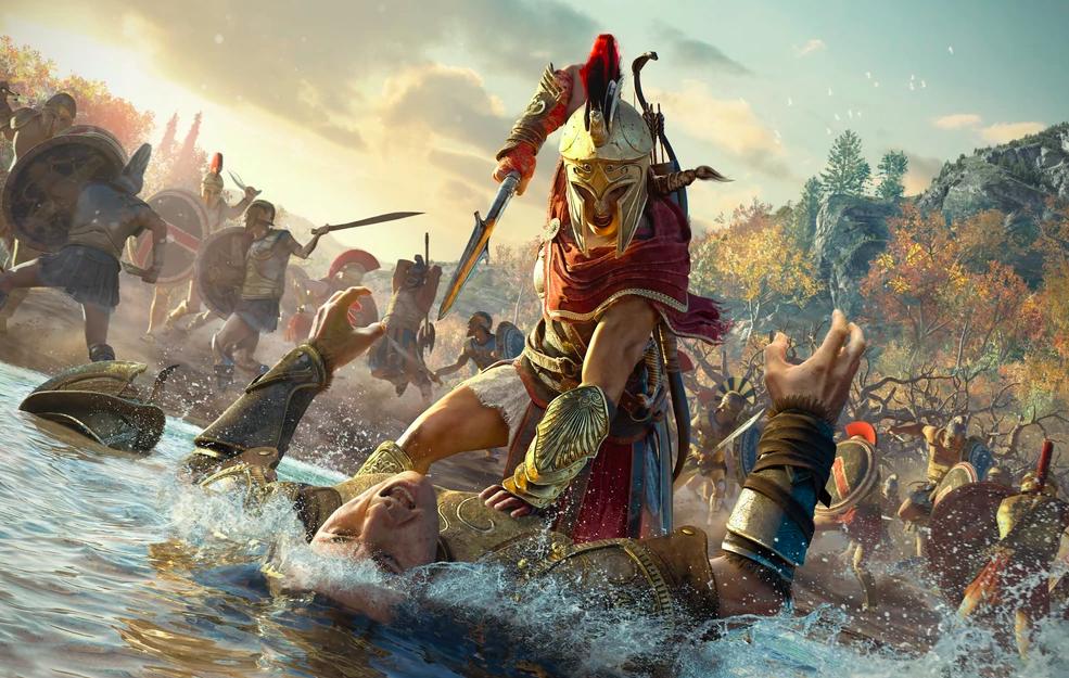 Kassandra Assassin's Creed Workout