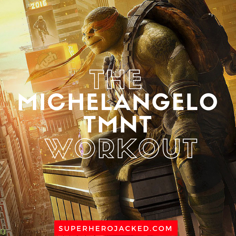 The Michelangelo TMNT Workout (1)