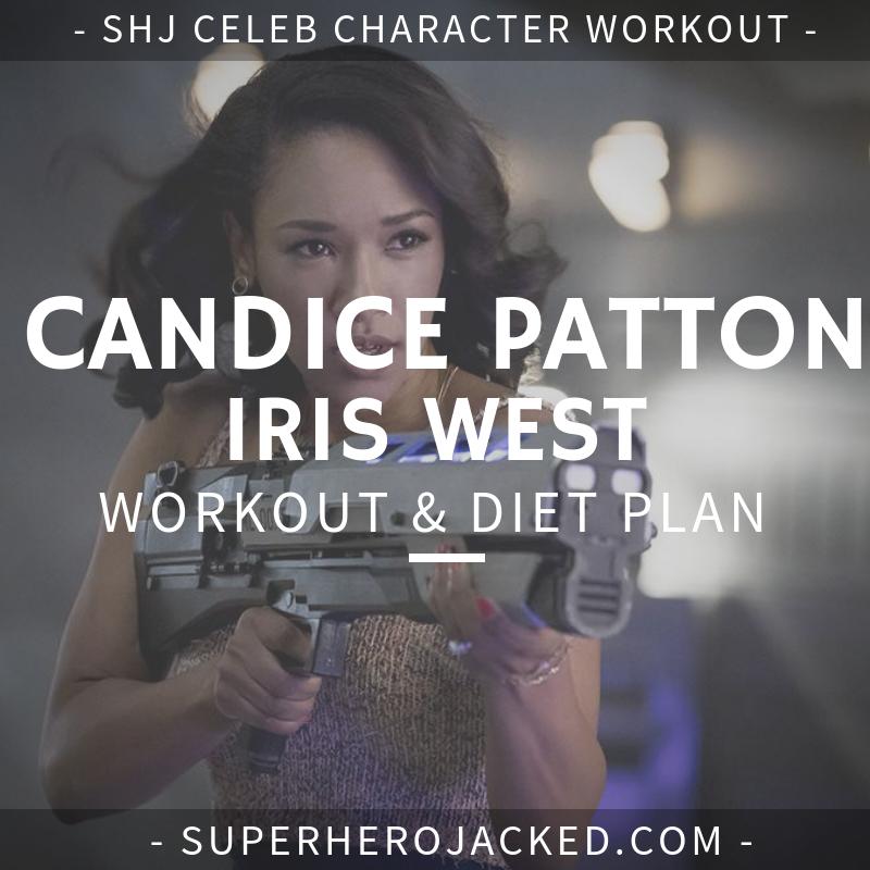 Candice Patton Iris West Workout and Diet