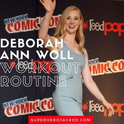 Deborah Ann Woll Workout Routine